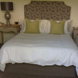 Headboard And Bed Valance