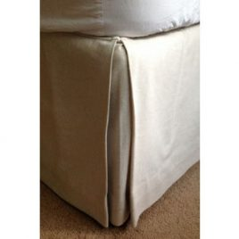 Bed Valance With Pleats