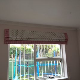 Children's Roman Blind With Borders